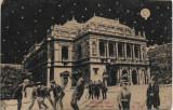 Carte postala Budapesta noaptea, austro-ungara