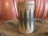 Design / Vintage / Decor - Vaza deosebita anii 60 cu marcaj Elbogen Keramik !