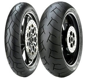 Motorcycle Tyres Pirelli Diablo ( 180/55 ZR17 TL (73W) Roata spate, M/C )