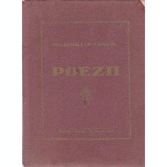 POEZII - MAXIMILIAN COSTIN