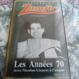 CASETA AUDIO -  GHEORGHE ZAMFIR -  LES ANNEES 70