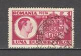 Romania.1938 Luna Bucurestilor  stampilate  GR.54, Stampilat