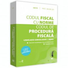 Codul fiscal cu Norme si Codul de procedura fiscala |