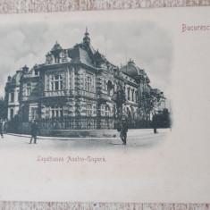 Bucuresti- Legatiunea Austro-Ungara.