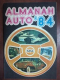 "Almanah auto ""84"