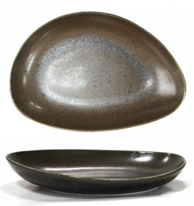 Platou portelan oval adanc BLACK, Antique, 30 cm, 0156120