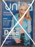 Revista Unica nr 41 , aprilie 2001, Delia Matache, Ioana Basescu, Heidi Klum