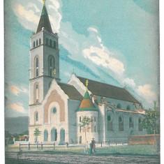 4727 - BAIA-MARE, Church, Romania - old postcard - used - 1915, Circulata, Printata