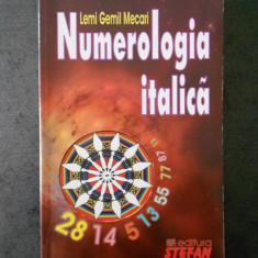 LEMI GEMIL MECARI - NUMEROLOGIA ITALICA