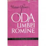 Oda limbei romine (poezii 1906 - 1956), Victor Eftimiu