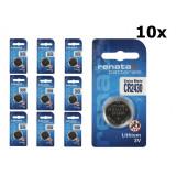 Renata CR2430 3v baterie plata cu litiu Set 10 Bucăți