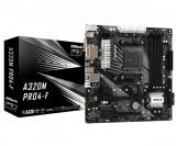 Placa de baza asrock socket am4 a320m pro4-f chipset -
