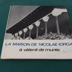 LA MAISON DE NICOLAE IORGA A VĂLENII DE MUNTE/ N. SIMACHE/1969
