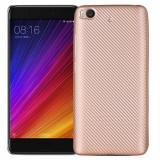 Husa Xiaomi Mi 5S i-Zore Carbon Fiber Auriu, Carcasa