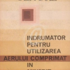Indrumator pentru utilizarea aerului comprimat in minerit