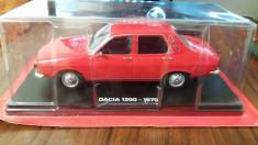 macheta dacia 1300 1970 - hachette, scara 1/24, noua, sigilata. foto