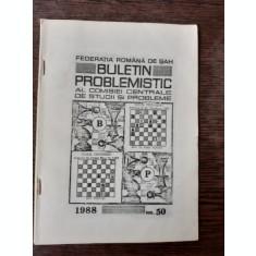 BULETIN PROBLEMISTIC AL COMISIEI CENTRALE DE STUDII SI PROBLEME NR. 50/1988