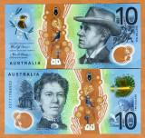 !!! AUSTRALIA - 10 DOLARI 2017 - P NEW - UNC / POLIMER