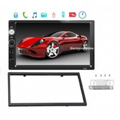 2Din mp5 player auto universal, Navigatie MirrorLink, Rama