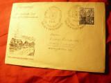 Plic FDC DDR 1953 - Ziua Marcii Postale ,stamp. K.Marx