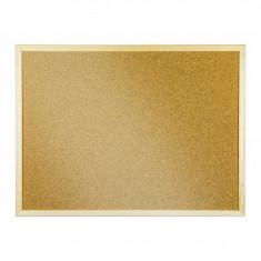 Panou plută cu ramă de lemn 60 x 80 cm
