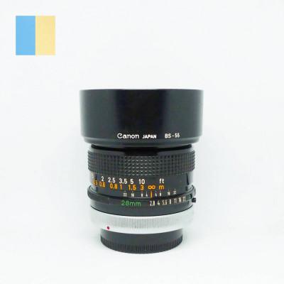 Obiectiv Canon 28mm f/2.8 S.C. montura Canon FD foto