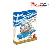 Puzzle 3D CubicFun CBF5 Insula Santorini