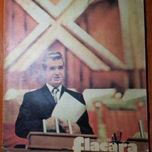 revista flacara 7 decembrie 1974-congresul al 11-lea al partidului comunist