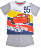 Cumpara ieftin Pijama cu maneca scurta si imprimeu Disney Cars, Gri