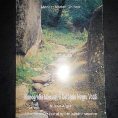 MODEST MARIAN GHINEA - MONOGRAFIA MANASTIRII CETATUIA NEGRU VODA