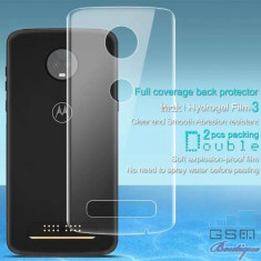 Folie Protectie Capac Baterie Spate Motorola Moto Z3 Play Acoperire Completa