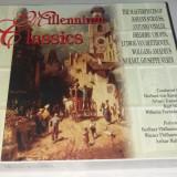 MILLENIUM CLASSIC - MOZART, VIVALDI, BEETHOVEN, STRAUSS, VERDI, CHOPIN, CD