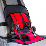 Suport Scaun Auto Siguranta Bebe copii Suport Scaun masa Rosu-Albastru