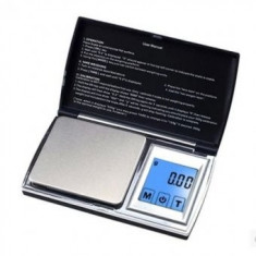 Cantar pentru bijuterii 200 g , precizie de cantarire 0,01, afisaj LCD cu touchscreen