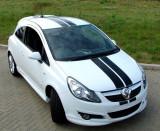 "Dungi auto Carbon 3D ""Racing Style"" lungime 3m, culori multiple (set 2 buc), 4World"