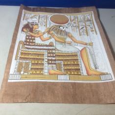 Papirus pictat , provenienta Egipt