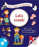Let's count! I learn english with Peter and Emily! Potrivita pentru invatarea limbii engleze inca de la gradinita!/Larousse, Rao