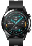 Smartwatch Huawei Watch GT 2, Procesor Kirin A1, Display 3D AMOLED HD 1.39inch, 32MB RAM, 4GB Flash, Bluetooth, GPS, Carcasa Otel, Rezistent la apa, A