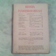Revista Fundatiilor Regale anul XI-nr.9-Septembrie 1944