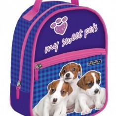 Ghiozdan Puppies Starpak