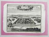 Cluj Napoca - Gravura Secol 18