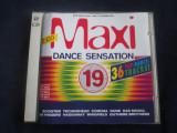 Various - Maxi Dance Sensation 19 _ dublu cd _ Ariola (Germania , 1995 ), arista