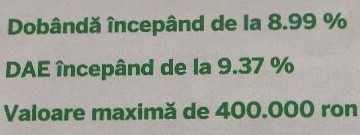 Credite de nevoi personale fara GARANTII-suma maxima 400000 lei
