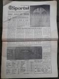 Ziarul Sportul din 2 martie 1981