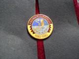 1980 Insigna Rafinaria Ploiesti-100 ani