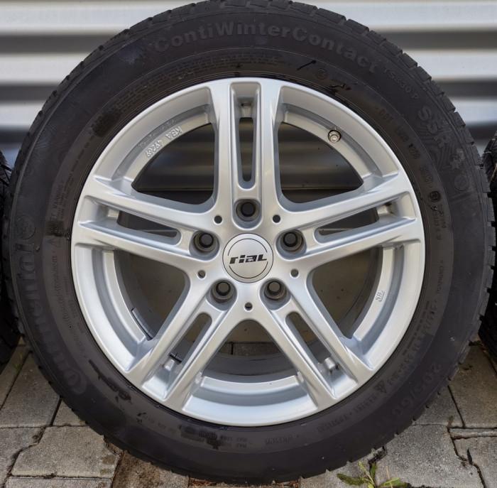 Roti/Jante BMW, Opel 5x120, 205/60 R16, Seria 3, 5, E90, E91, F30, F31