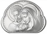 Icoana Argint Sfanta Familie 17x12.5cm Cod Produs 2890