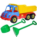 Camion 60 cm cu lopata si grebla verde