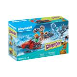 Playmobil Scooby-Doo! - Aventuri cu fantoma zapezii