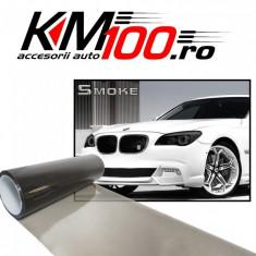 Folie protectie faruri / stopuri (60 x 60 cm) - fumuriu